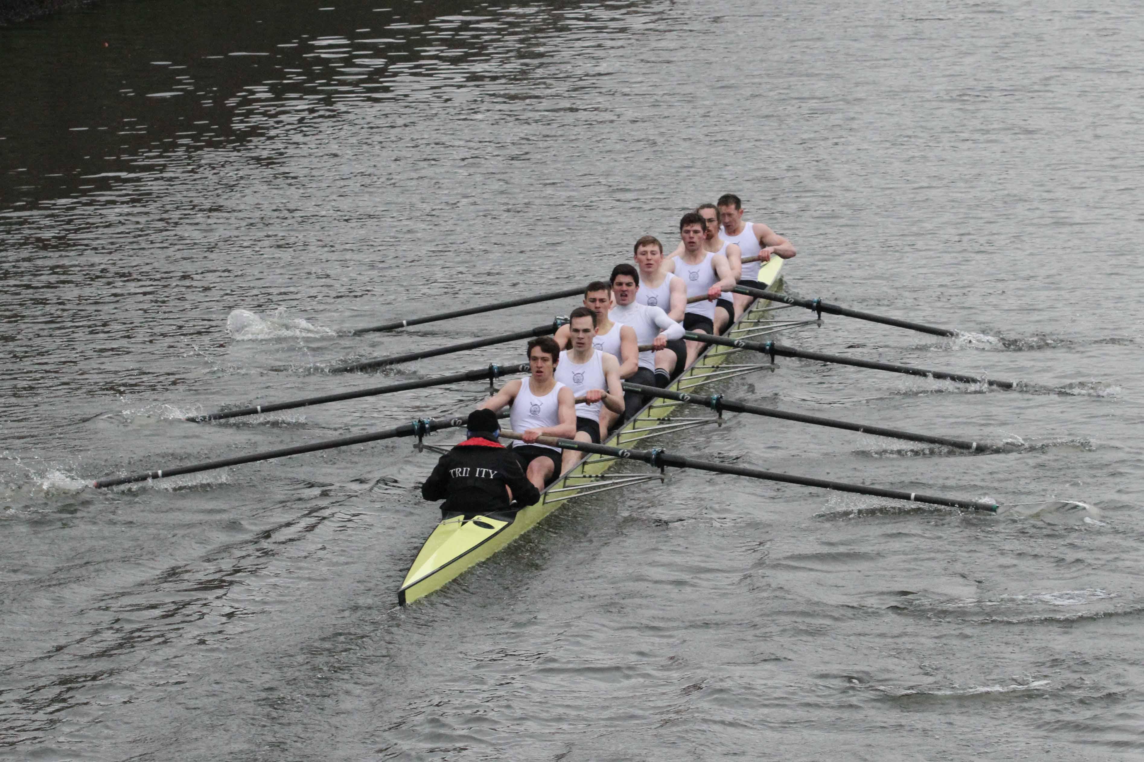 The winning Dan Quinn crew- Bow: J. Redmond, R. Dullagh, J. Gavin, D.  Healy, C. MacGuinness, C. DeCourcy, D. Pierse, Stk: A. Merle, Cox: A. O' Donnell